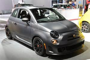 Fiat 5oo Abarth Fiat 500 Abarth Tenebra Concept Detroit 2013 Photo