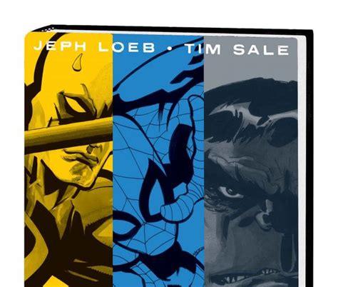 daredevil yellow hc 0785108408 jeph loeb tim sale yellow blue and gray hardcover comic books comics marvel com
