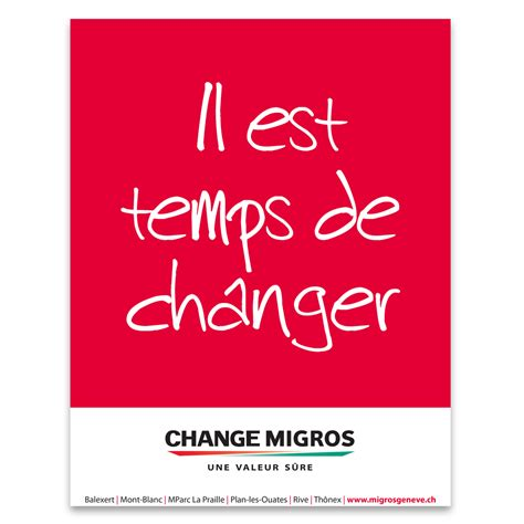 change migros sixty six communication design sa agence