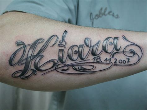 name style design tattoos for men on arm names male models picture