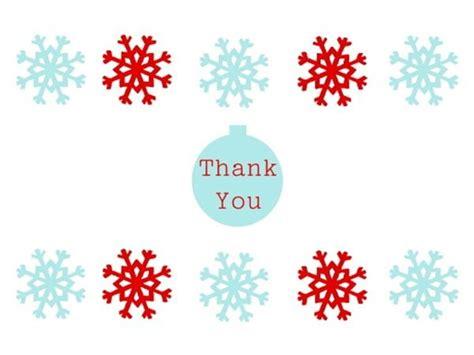 printable christmas thank you postcards christmas thank you cards free printable printables