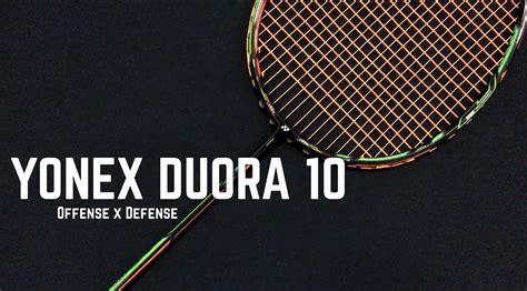 Raket Yonex 8 yonex duora 10 badminton racket chong wei