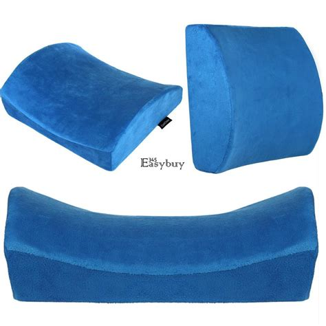 Lower Back Pillow For Car by Lumbar Cushion Lower Back Travel Pillow Memory Foam