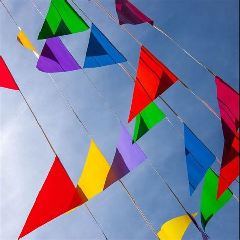 30 M/50 Flags string banner wedding decoration flags