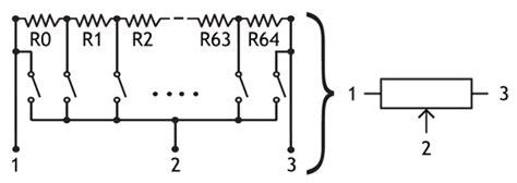 variable resistor digital digital potentiometer digital resistors 187 resistor guide
