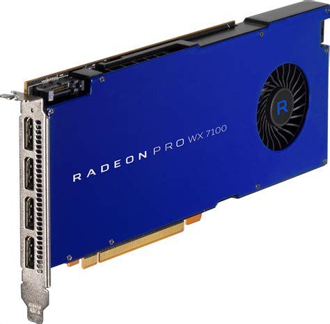 Vga Radeon Firepro Wx 5100 8 Gb siggraph 2016 a look at amd s upcoming radeon pro wx gpus