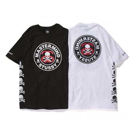 Tshirt Bape X Mastermind mastermind japan quot mmj stussy circle skull quot t shirt white