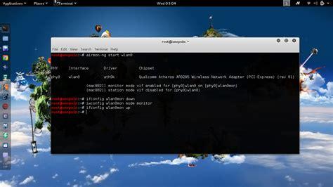 tutorial mdk3 di kali linux cara memperbaiki mode monitoring interface untuk mdk3