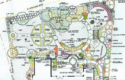backyard layout plans formal garden space with walks and arbor garden