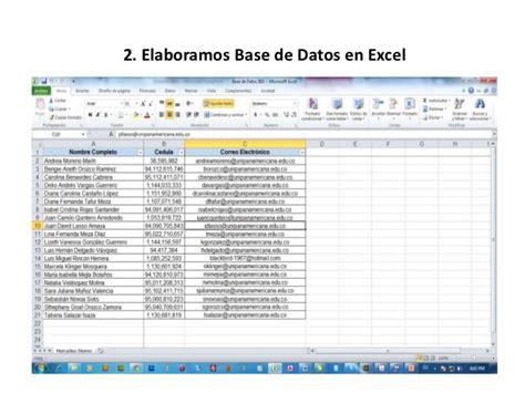 Tutorial Excel 2010 Base De Datos   tutorial base de datos word y excel