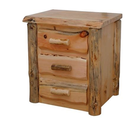 live edge desk with drawers rustic pine slab live edge 3 night stand end