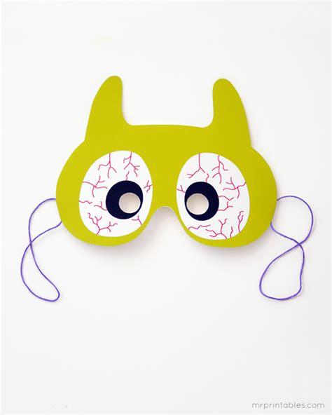 printable scary halloween masks for free printable halloween masks