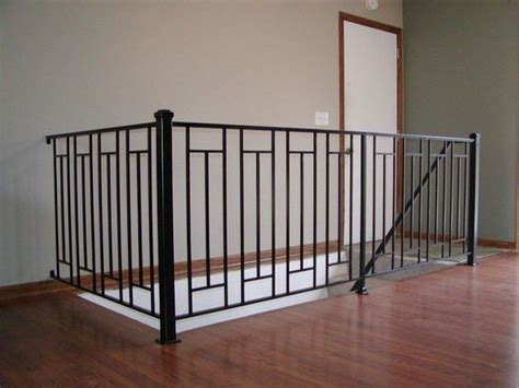 metal banister rail custom interior iron railing interior iron railings