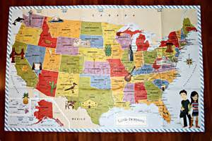 united states landmarks map passports usa edition discovery kit review