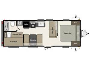 Keystone Rv Floor Plans by 2016 Keystone Summerland 2600tb Camper Ebay