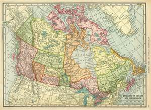 antique maps canada map of canada free vintage image design shop