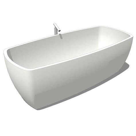 Bathtub Revit by Agape Tub 3d Model Formfonts 3d Models Textures