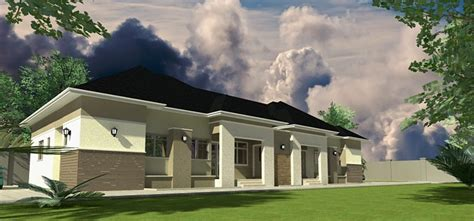 Floor Plans For 3 Bedroom Flats Home Plans For Bungalows In Nigeria Properties 2