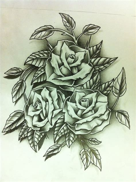 rose bunch tattoo bunch of roses drawing driverlayer search engine