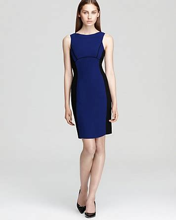 Diandra Dress 2 shoshanna color block dress diandra bloomingdale s