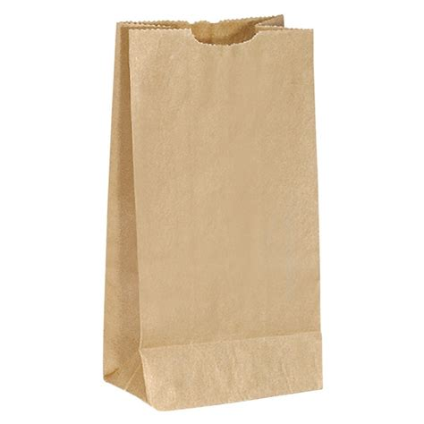 Paper Bag - promotional popcorn brown paper bag 13brp3 customized