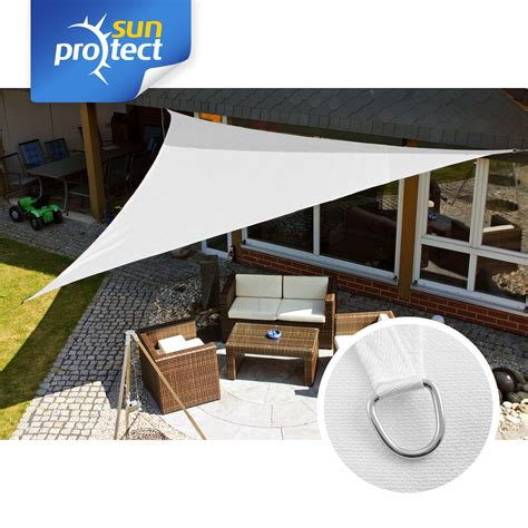 terrasse 6 x 5 professional sonnensegel 5 x 5 x 5 m wei 223