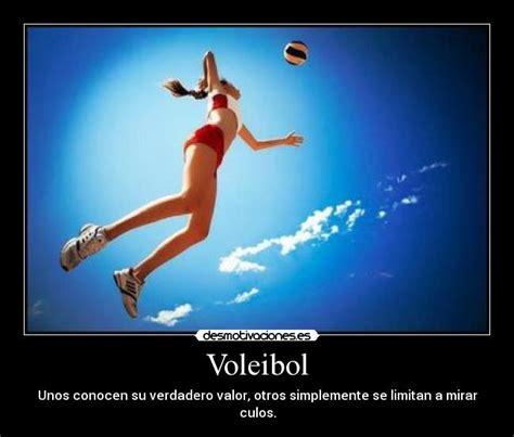 imagenes motivadoras de voley voleibol desmotivaciones