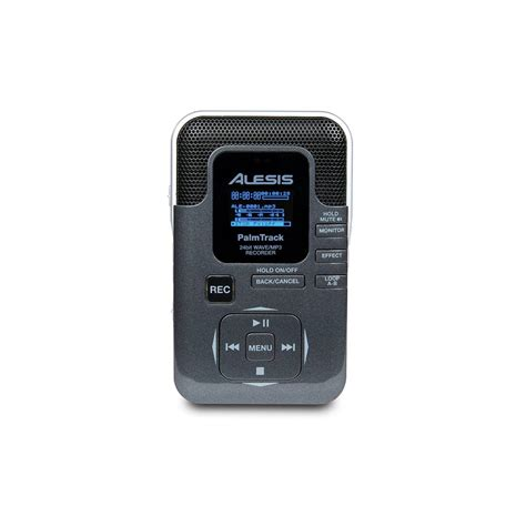 palm track alesis palmtrack 24 bit sd card field recorder portable recorders from inta audio uk