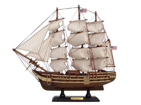 Ship Wood Uss Constitution 15 Quot Wood Model Ship Model