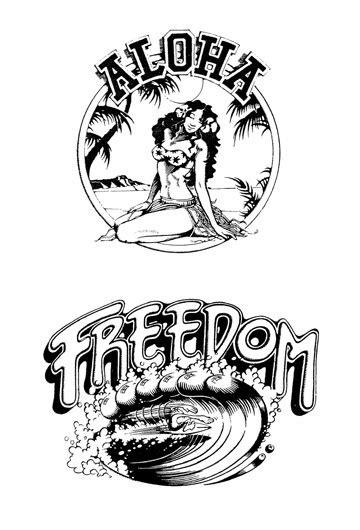 best rick griffin cotw surf artist images on designspiration