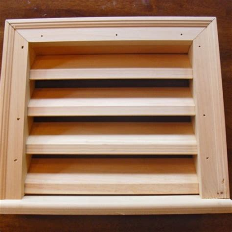 wooden vent wooden louvered vents wood louvered vents