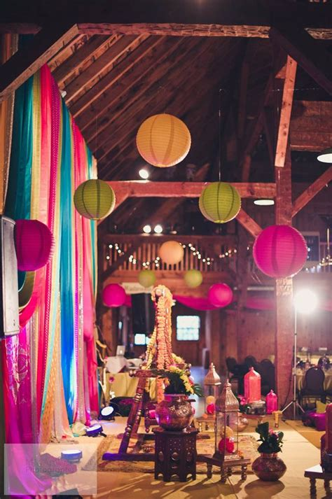 mehndi themed events paper lanterns for a rustic toronto mehndi party by lemon
