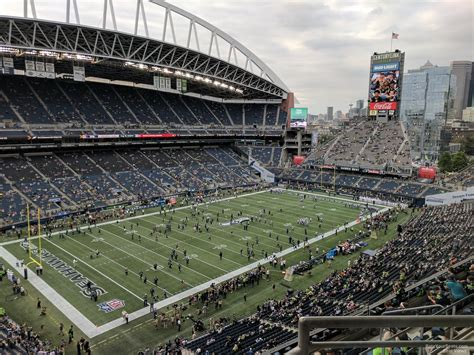 what sections are covered at centurylink field centurylink field section 316 seattle seahawks