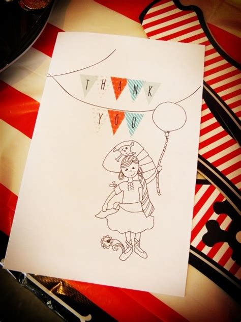 free printable thank you cards snapfish 131 best pirate birthday party free printables images on