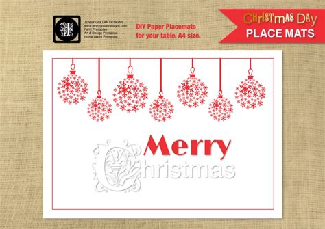 Printable Place Mats by Placemat Template Images