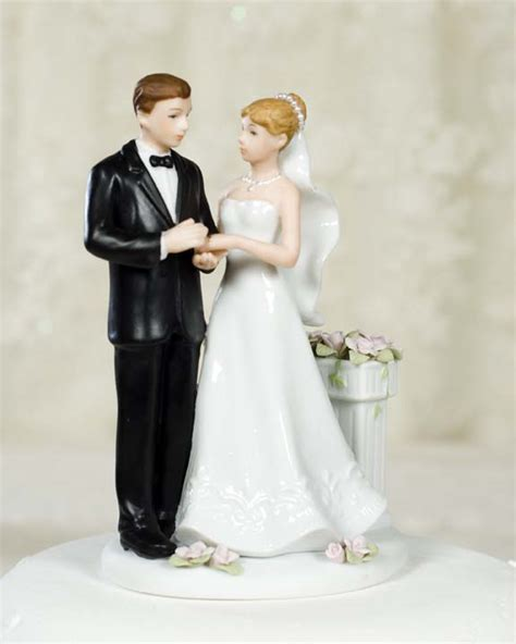 Wedding Figurines by Garden Wedding Figurine