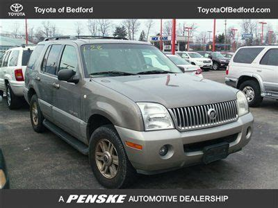 old car manuals online 2002 mercury mountaineer seat position control service manual 2002 mercury mountaineer sunroof repair purchase used 2002 mercury