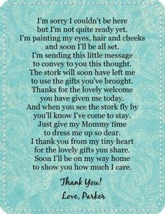 thank you poem for bridal shower favors poem to go with newborn hankie bonnet