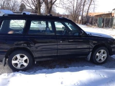 2001 subaru forester battery purchase used 2001 subaru forester s wagon 4 door 2 5l in