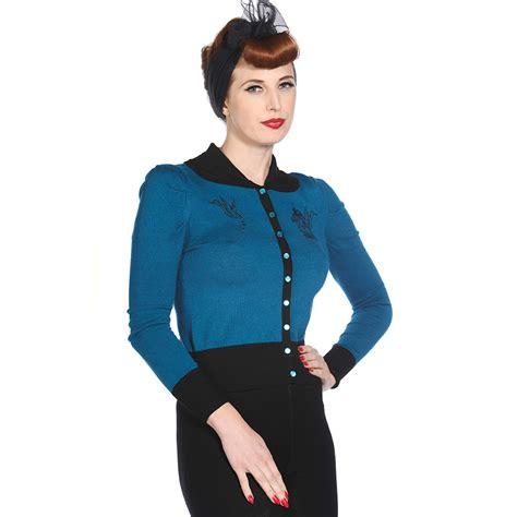 Best Seller Cardigan Abg Soft Blue Ro Cardi Wanita Rajut Spandex Biru 1 banned womens bird and cage knitted 50s rockabilly