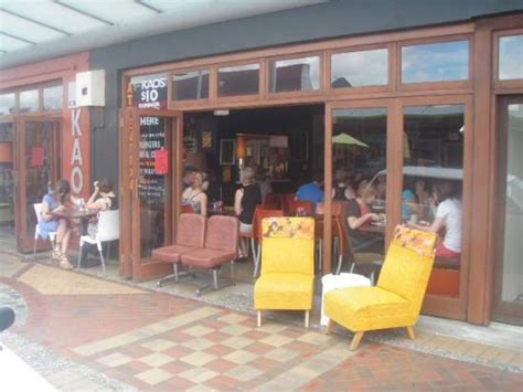 Kaos Coffee Park best place in pukekohe for brunch and coffee review of