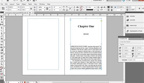 Book Layout Adobe Indesign | book layout template indesign cs2 templates resume