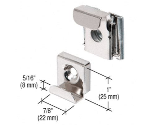 bathroom mirror mounting clips crl polished chrome plastic lined mirror mounting clips