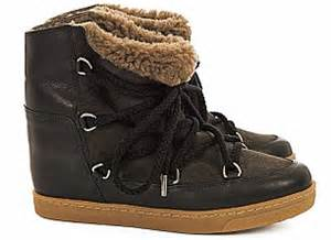 Boots Fashion Ad An 30 Wedges Hitam fashion forward cosy up in shearling this winter daily