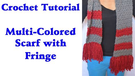 youtube tutorial crochet scarf creatys free crochet pattern and images