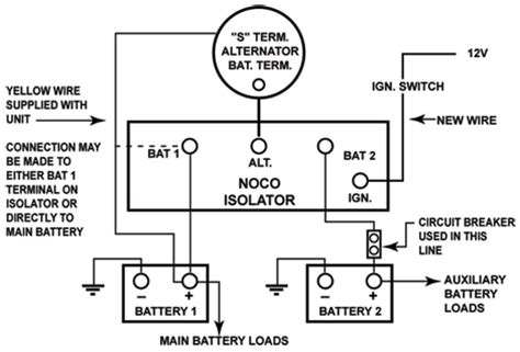 thesamba gallery noco battery isolator wiring diagram