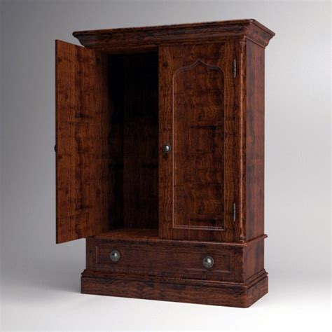armoire english 3d lwo armoire english style