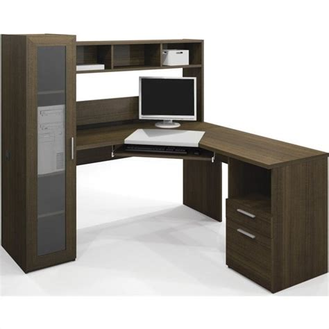 Bestar Corner Desk Bestar Jazz Corner Work Station In Tuxedo 90432 78