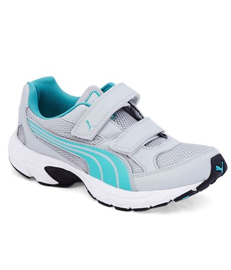 axis sport shoes axis velcro gray sport shoes price in india buy