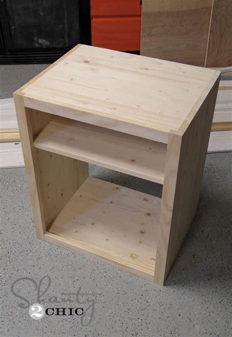 Diy Wood Nightstand Plans